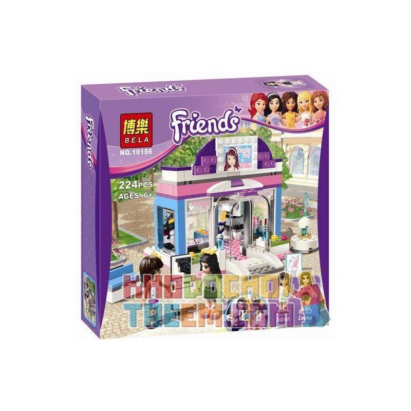 Bela 10156 (NOT Lego Friends 3187 Butterfly Beauty Shop ) Xếp hình Cửa Hàng Bươm Bướm Bán Đồ Làm Đẹp 224 khối