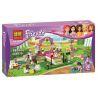 Bela 10159 (NOT Lego Friends 3942 Heartlake Dog Show ) Xếp hình Buổi Trình Diễn Của Chú Chó Hồ Trái Tim 185 khối