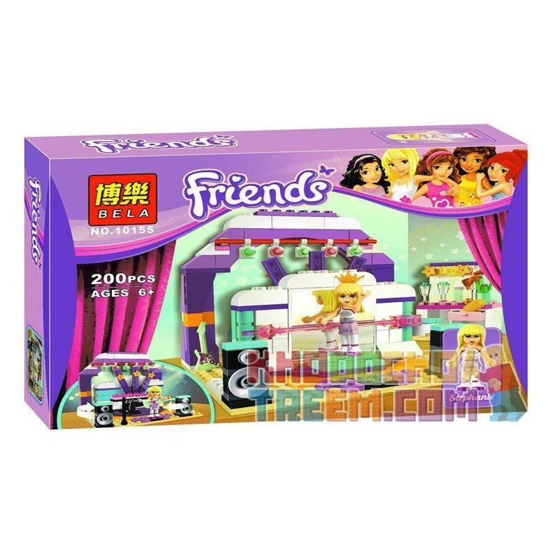 Bela 10155 Sheng Yuan 377B SY377B (NOT Lego Friends 41004 Rehearsal Stage ) Xếp hình Sân Khấu Diễn Tập 200 khối