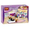 Bela 10153 (NOT Lego Friends 41009 Andrea's Bedroom ) Xếp hình Phòng Ngủ Của Andrea 76 khối