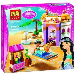 Bela 10434 Lari 10434 Xếp hình kiểu Lego DISNEY PRINCESS Jasmine's Exotic Palace Alien Palace Of Jasmine Cung điện Của Công Chúa Jasmine 143 khối