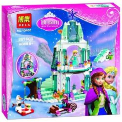 Bela 10435 Lari 10435 BENINKI BQ9001 9001 JIEGO JG301 LELE 79168 LEPIN 25005 LEZI 97020 MINGGE MG122 SHENG YUAN SY 373 SY373 SX 3003 Xếp hình kiểu Lego DISNEY PRINCESS Elsa's Sparkling Ice Castle Ice