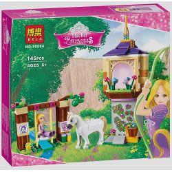 Bela 10564 Lari 10564 LELE 37000 Xếp hình kiểu Lego DISNEY PRINCESS Rapunzel's Best Day Ever Long Hair Princess Lepe's Aesthetic Day Ngày đẹp Nhất Của Công Chúa Tóc Dài 145 khối