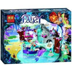Bela 10410 Lari 10410 Xếp hình kiểu Lego ELVES Naida's Spa Secret Elf Nada's Secret Spa Pool Nơi Nghỉ Thư Giãn Bí Mật Của Naida 249 khối