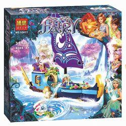 Bela 10411 Lari 10411 LELE 79223 Xếp hình kiểu Lego ELVES Naida's Epic Adventure Ship Elf Nauda's Epic Chiếc Thuyền Phiêu Lưu Của Naida 312 khối