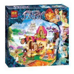 Bela 10412 Lari 10412 LELE 79222 Xếp hình kiểu Lego ELVES Azari And The Magical Bakery Elf Astoli And Magic Bay Azari Và Tiệm Bánh Ma Thuật 324 khối