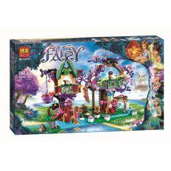 Bela 10414 Lari 10414 Xếp hình kiểu Lego ELVES The Elves' Treetop Hideaway Elf The Homes Of The Elf Ngôi Nhà ẩn Trên Ngọn Cây 505 khối