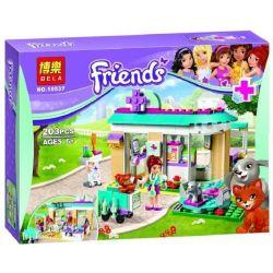 NOT Lego FRIENDS 41085 Vet Clinic, Bela 10537 Lari 10537 Xếp hình phòng khám thú nuôi 192 khối