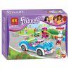 Bela 10544 (NOT Lego Friends 41091 Mia's Roadster ) Xếp hình Mia Rửa Xe Ô Tô 199 khối