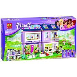 Bela 10541 Lari 10541 Xếp hình kiểu Lego FRIENDS Emma's House Nhà Của Emma 706 khối