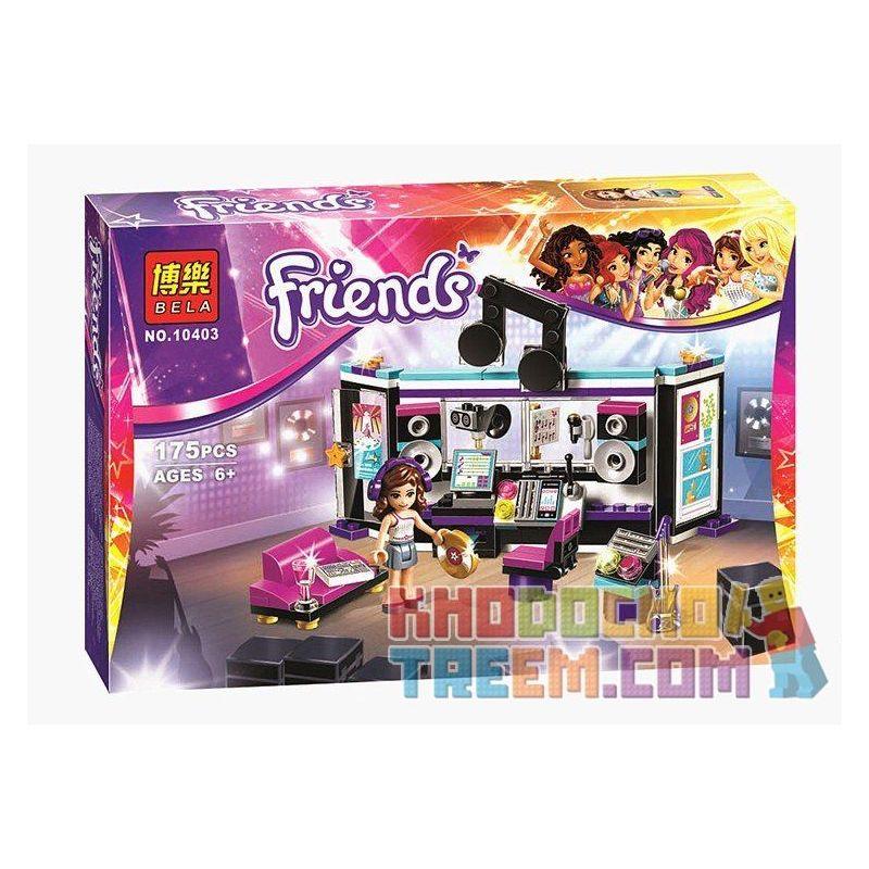 Bela 10403 Sheng Yuan 377A SY377A (NOT Lego Friends 41103 Pop Star Recording Studio ) Xếp hình Studio Ghi Âm Của Siêu Sao Nhạc Pop 175 khối
