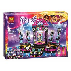 Bela 10406 Lari 10406 SHENG YUAN SY 380 SY380 Xếp hình kiểu Lego FRIENDS Pop Star Show Stage Popular Star Show Stage Sân Khấu Biểu Diễn Của Siêu Sao Nhạc Pop 446 khối