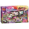 Bela 10407 Sheng Yuan 381 SY381 (NOT Lego Friends 41106 Pop Star Tour Bus ) Xếp hình Xe Buýt Lưu Diễn Của Siêu Sao Nhạc Pop 682 khối