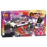 Bela 10405 Sheng Yuan 382 SY382 (NOT Lego Friends 41107 Pop Star Limousine ) Xếp hình Xe Limousine Của Siêu Sao Nhạc Pop 265 khối