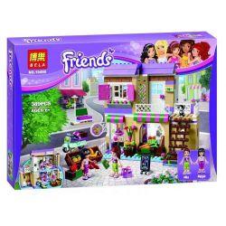 NOT Lego FRIENDS 41108 Heartlake Food Market Heart Lake City Food Store , Bela 10495 Lari 10495 LELE 37014 Xếp hình Chợ Thực Phẩm 388 khối