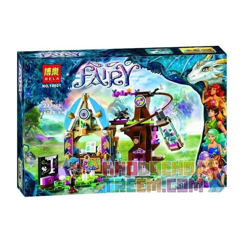 Bela 10501 (NOT Lego Elves 41173 Elvendale School Of Dragons ) Xếp hình Trường Học Của Những Chú Rồng 233 khối