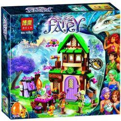 NOT Lego ELVES 41174 The Starlight Inn, Bela 10502 Lari 10502 Xếp hình nhà trọ Sao Sáng 343 khối