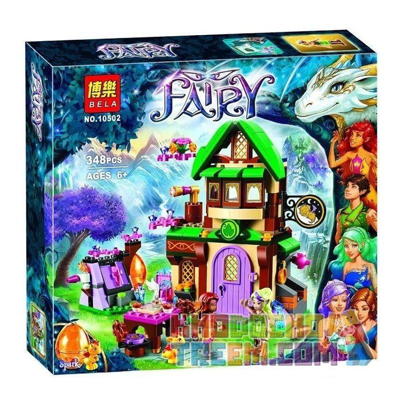 Bela 10502 (NOT Lego Elves 41174 The Starlight Inn ) Xếp hình Nhà Trọ Sao Sáng 348 khối