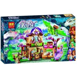 Bela 10504 Lari 10504 Xếp hình kiểu Lego ELVES The Secret Market Place Elf Mysterious Market Khu Chợ Thần Bí 691 khối