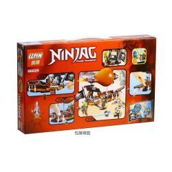 NOT Lego THE LEGO NINJAGO MOVIE 70603 Raid Zeppelin, Bela 10448 Lari 10448 LELE 79231 LEPIN 06029 SHENG YUAN SY 540 SY540 Xếp hình Tấn Công Khinh Khí Cầu Hải Tặc 294 khối