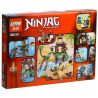 Lepin 06030 Bela 10461 Sheng Yuan 539 SY539 Lele 79232 (NOT Lego Ninjago Movie 70604 Tiger Widow Island ) Xếp hình Cuộc Chiến Tại Đảo Nhện Độc 482 khối