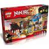 Lepin 06033 Bela 10527 Lele 79349 (NOT Lego Ninjago Movie 70590 Airjitzu Battle Grounds ) Xếp hình Đấu Trường Ninja 723 khối