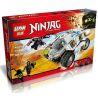 Lepin 06040 Bela 10523 Sheng Yuan 590 SY590 (NOT Lego Ninjago Movie 70588 Titanium Ninja Tumbler ) Xếp hình Chiến Xa Của Ninja 371 khối