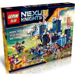 Bela 10490 Lari 10490 BLANK 40011 LELE 79241 LEPIN 14006 LERO 13001 13001A LION KING 180112 QUEEN 97006 SHENG YUAN SY SY568 Xếp hình kiểu Lego NEXO KNIGHTS The Fortrex High-tech Moving Fortress Pháo đ