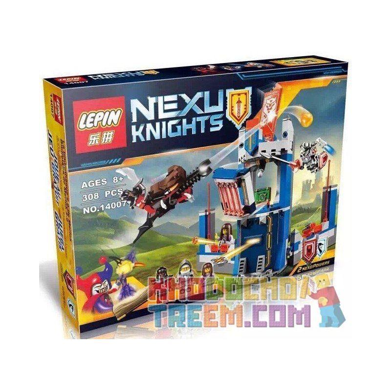NOT Lego NEXO KNIGHTS 70324 Merlok's Library 2.0, Bela 10486 Lari 10486 LELE 79244 LEPIN 14007 SHENG YUAN SY SY563 Xếp hình thư viện của các hiệp sỹ 288 khối