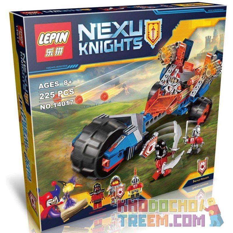 NOT Lego NEXO KNIGHTS 70319 SY804 Macy's Thunder Mace, Bela 10516 Lari 10516 BRICKCOOL 8016 LEPIN 14017 Xếp hình mô tô chùy sấm sét của macy gồm 2 hộp nhỏ 202 khối