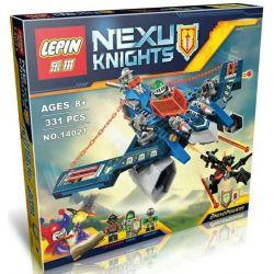 Bela 10517 Lari 10517 Decool 8016 Jisi 8016 LELE 79310 LEPIN 14021 SHENG YUAN SY SY804 Xếp hình kiểu Lego NEXO KNIGHTS Aaron Fox's Aero-Striker V2 Alon's Flying God Bow Fighter V2 Phi Thuyền Cung Tên