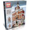 Lepin 15003 Lele 30014 (NOT Lego Creator Expert 10224 Town Hall ) Xếp hình Tòa Thị Chính 2859 khối