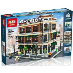 LEPIN 15017 Xếp hình kiểu Lego CREATOR Bookstore And Starbucks Hiệu Sách Và Quán Cafe 4616 khối