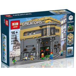 Lepin 15015 (NOT Lego Modular Buildings L. Rivendell Museum Of Natural History ) Xếp hình Bảo Tàng Tự Nhiên 5003 khối