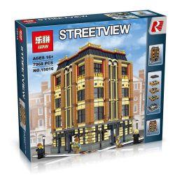 LEPIN 15016 Xếp hình kiểu Lego CREATOR Apple Square University Apple University Trường đại Học Táo Khuyết 7968 khối