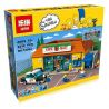 Lepin 16004 King 83004 (NOT Lego The Simpsons 71016 Kwik-E-Mart ) Xếp hình Siêu Thị Kwik-E-Mart 2232 khối