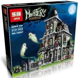 Lepin 16007 (NOT Lego Modular Buildings 10228 Haunted House ) Xếp hình Ngôi Nhà Ma 2141 khối