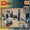 Lepin 16013 (NOT Lego The Lord of the Rings 9474 The Battle Of Helm's Deep ) Xếp hình Trận Chiến Ở Pháo Đài Thung Lũng Helm 1368 khối