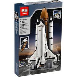 BLANK 80032 KING 83014 LEPIN 16014 LION KING 180048 Xếp hình kiểu Lego CREATOR EXPERT Shuttle Expedition Shuttle Adventure Space Shuttle Cuộc Thử Nghiệm Phóng Tàu Vũ Trụ gồm 2 hộp nhỏ 1230 khối
