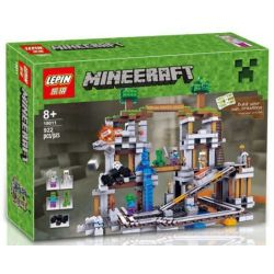 Lepin 18011 Lele 79074 Bela 10179 Sheng Yuan 542 SY542 Bolx 81118 (NOT Lego Minecraft 21118 The Mine ) Xếp hình Hầm Mỏ 922 khối