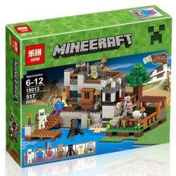 LEPIN 18013 Xếp hình kiểu Lego MINECRAFT My World Pier Bến Thuyền