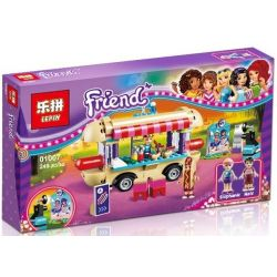 Lepin 01007 Sheng Yuan 837 SY837 Bela 10559 (NOT Lego Friends 41129 Amusement Park Hot Dog Van ) Xếp hình Xe Bán Xúc Xích 249 khối