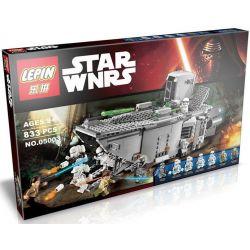 LEPIN 05003 Xếp hình kiểu Lego STAR WARS First Order Transporter First Order Transport Ship Tàu đổ Bộ 792 khối