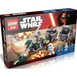 Lepin 05024 Bela 10574 (NOT Lego Star wars 75141 Kanan's Speeder Bike ) Xếp hình Moto Tốc Độ 251 khối