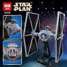 Lepin 05036 Lele 35007 (NOT Lego Star wars 75095 Tie Fighter ) Xếp hình Phi Thuyền Chiến Đấu 1685 khối