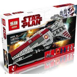 Lepin 05042 (NOT Lego Star Wars 8039 Venator-Class Republic Attack Cruiser ) Xếp hình Phi Thuyền Tấn Công Đầu Nhọn 1200 khối