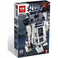 KING 81045 LELE 35009 LEPIN 05043 Xếp hình kiểu Lego STAR WARS R2-D2 Rô Bốt R2-D2 2127 khối
