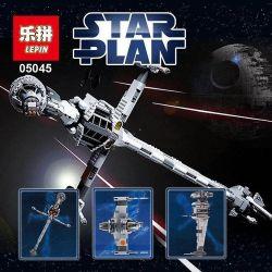 NOT Lego STAR WARS 10227 B-Wing Starfighter B-wing Interplanetary Fighter , LEPIN 05045 Xếp hình Phi Thuyền Chiến đấu Thanh Gươm 1487 khối
