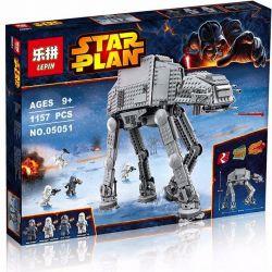KING QUEEN 81053 LEPIN 05051 Xếp hình kiểu Lego STAR WARS AT-AT Tàu đi Bộ 1138 khối