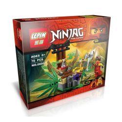 Lepin 06007 Bela 10315 (NOT Lego Ninjago Movie 70752 Jungle Trap ) Xếp hình Cạm Bẫy Trong Rừng 70 khối